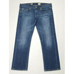 AG Tomboy Crop Relaxed Straight Crop Jeans 2661E2